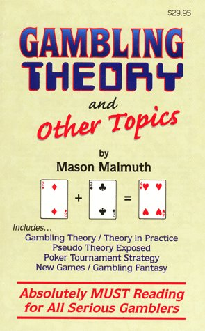 Gambling Theory and Other Topics als Taschenbuch