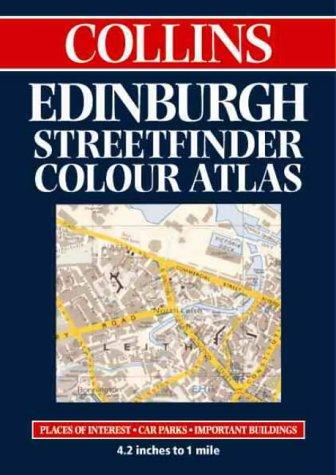 Edinburgh Streetfinder Colour Atlas als Taschenbuch