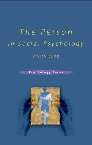 The Person in Social Psychology als Buch