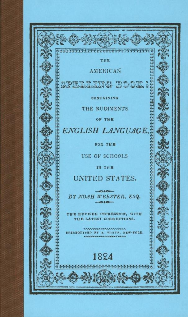 American Spelling Book als Buch