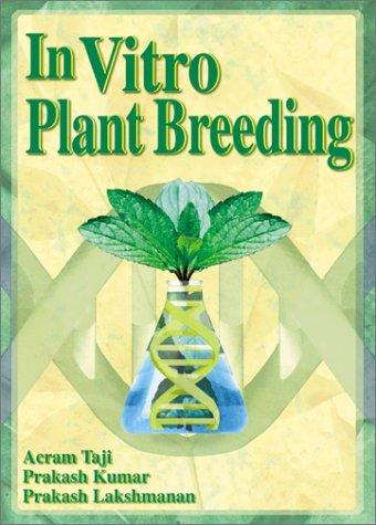 In Vitro Plant Breeding als Taschenbuch