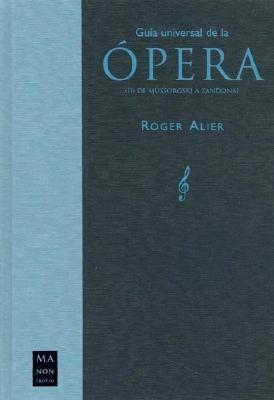 Guía universal de la ópera als Taschenbuch