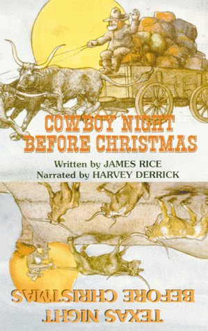 Cowboy Night Before Christmas/Texas Night Before Christmas Audiocassette als Hörbuch