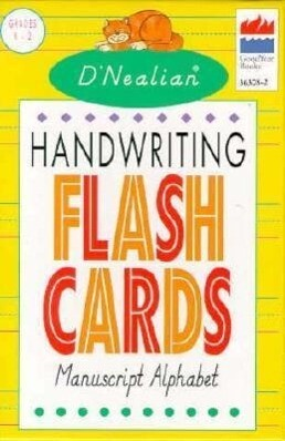 D'Nealian Handwriting Manuscript Flash Cards als sonstige Artikel