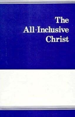 All Inclusive Christ: als Taschenbuch