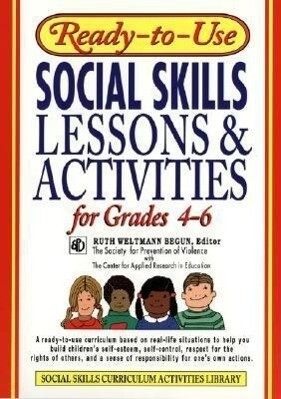 Ready-To-Use Social Skills Lessons & Activities for Grades 4 - 6 als Taschenbuch