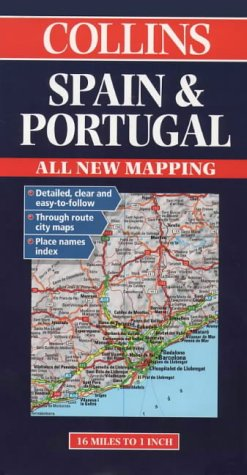 Collins Spain and Portugal Road Map als Buch