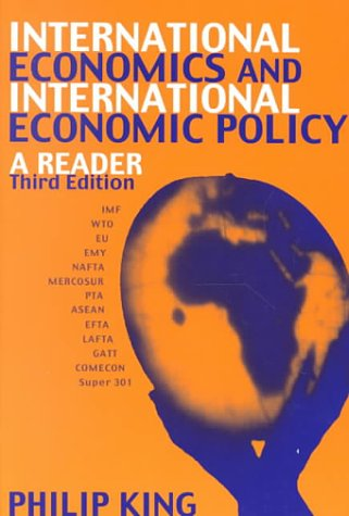 International Economics and International Economics Policy: A Reader als Buch
