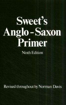 Anglo-Saxon Primer als Buch