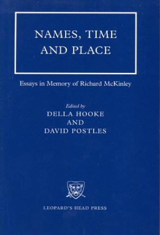 Names, Time and Place: Essays in Memory of Richard McKinley als Buch (gebunden)