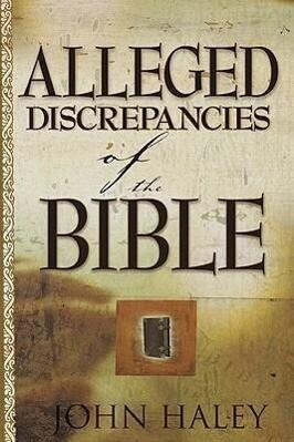 Alleged Discrepancies of the Bible als Taschenbuch