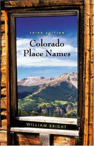 Colorado Place Names als Taschenbuch