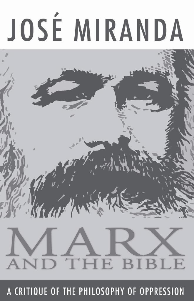 Marx and the Bible als Taschenbuch