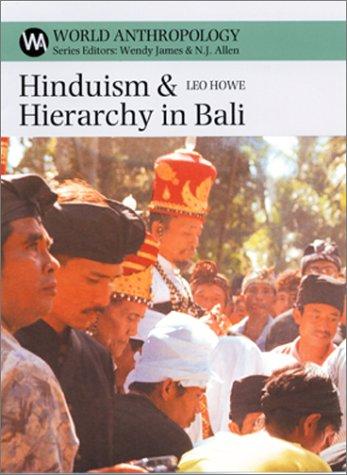 Hinduism & Hierarchy in Bali als Buch