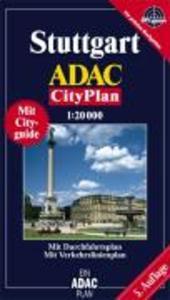 ADAC Cityplan Stuttgart 1 : 20 000 als Buch