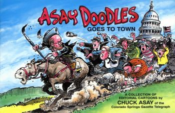 Asay Doodles Goes to Town als Taschenbuch