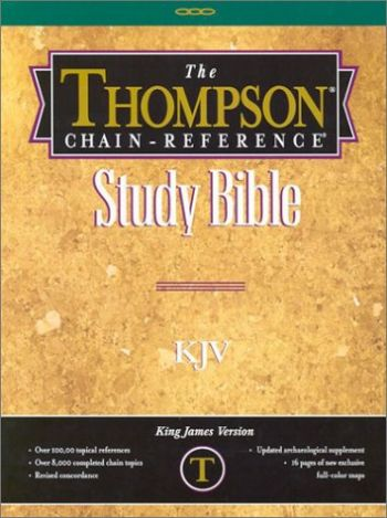 Thompson Chain-Reference Study Bible-KJV als Buch