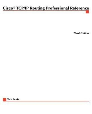 Cisco TCP/IP Routing Professional Reference als Taschenbuch