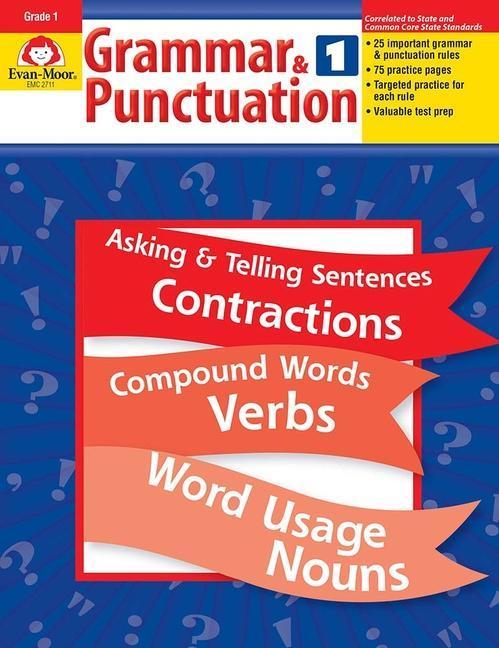 Grammar & Punctuation, Grade 1 als Taschenbuch
