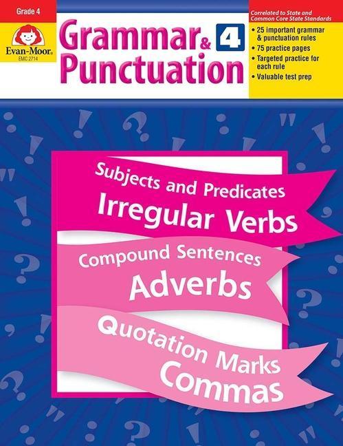 Grammar & Punctuation, Grade 4 als Taschenbuch