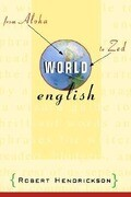 World English: From Aloha to Zed