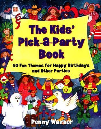 Kids Pick a Party Book als Taschenbuch