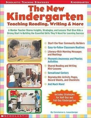 The New Kindergarten: Teaching Reading, Writing & More als Taschenbuch