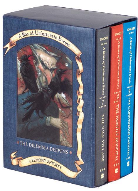 A Series of Unfortunate Events Box: The Dilemma Deepens (Books 7-9) als Taschenbuch