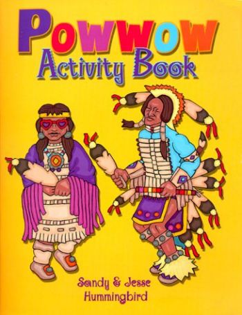 POW Wow Activity Book als Buch