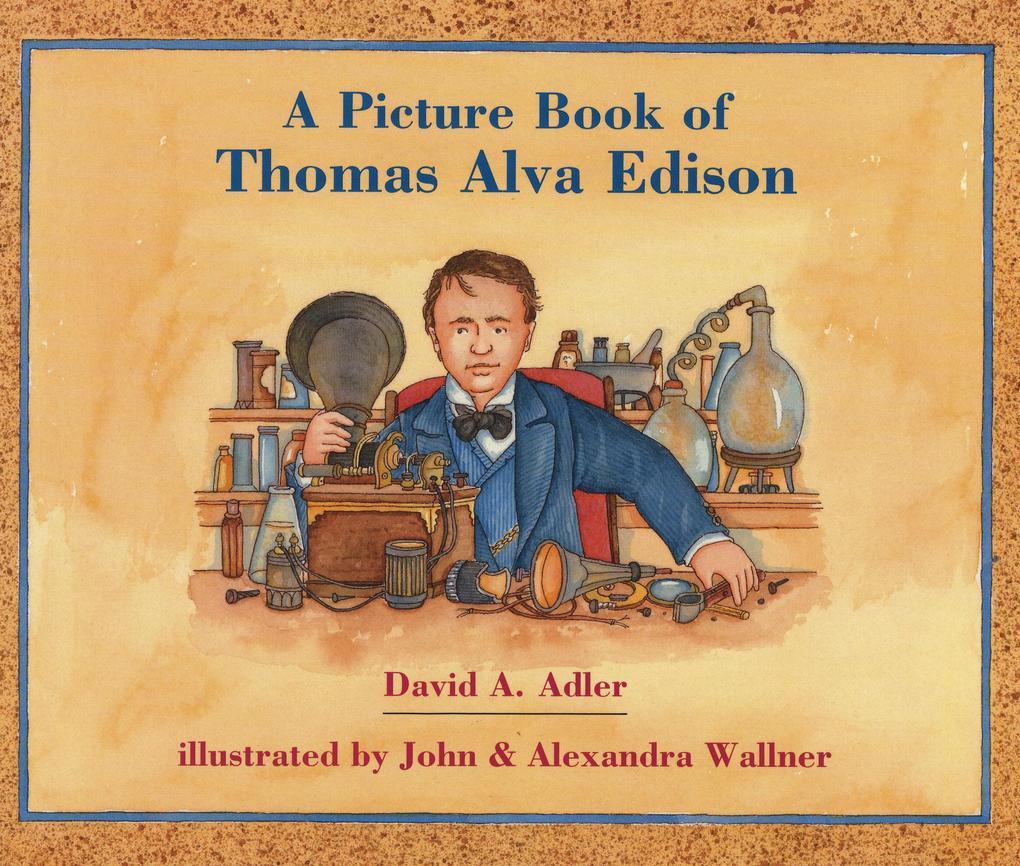 A Picture Book of Thomas Alva Edison als Taschenbuch