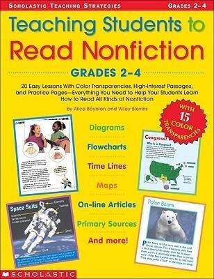 Teaching Students to Read Nonfiction: Grades 2-4 als Taschenbuch