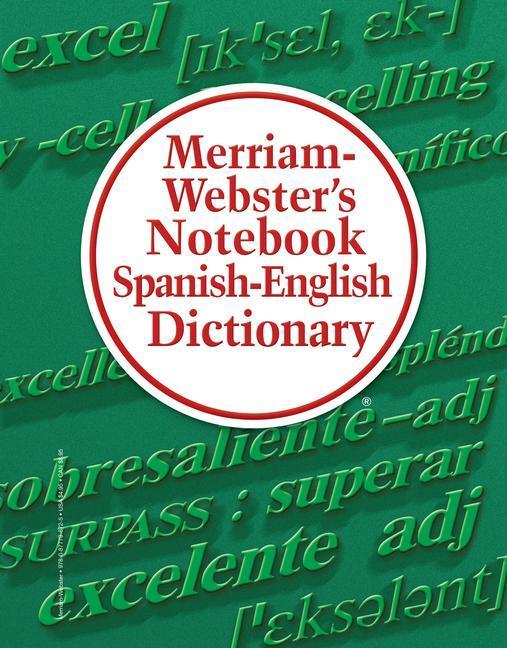 Merriam-Webster's Notebook Spanish-English Dictionary als Taschenbuch