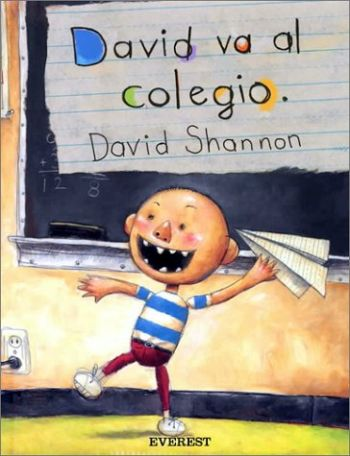 David va al colegio als Taschenbuch