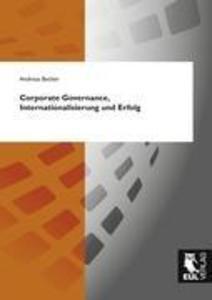 Corporate Governance, Internationalisierung und...