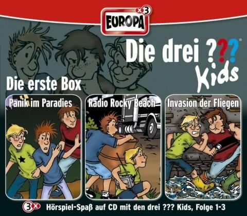die drei kids 3er box folgen 1 3 drei fragezeichen 3 cds h rbuch. Black Bedroom Furniture Sets. Home Design Ideas