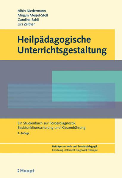 Heilpädagogische Unterrichtsgestaltung als Buch...
