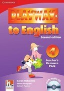 Playway to English 4 Teacher's Resource Pack + CD