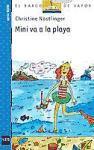Mini va a la playa