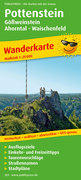 Wanderkarte Pottenstein, Gößweinstein - Ahorntal - Waischenfeld 1 :25 000