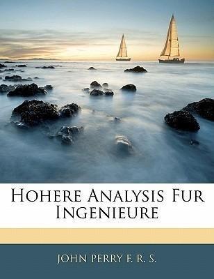 Hohere Analysis für Ingenieure als Taschenbuch ...