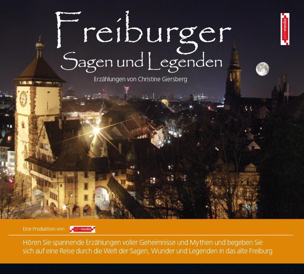 Freiburger Sagen und Legenden als Hörbuch CD vo...