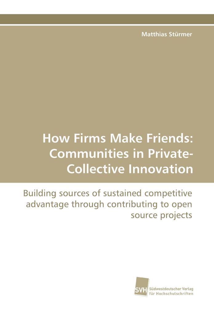 How Firms Make Friends: Communities in Private-...