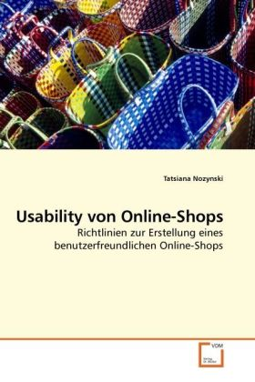 Usability von Online-Shops als Buch von Tatsian...