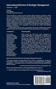 International Review of Strategic Management 1992