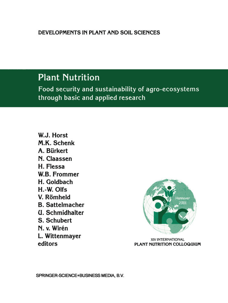Plant Nutrition: Food Security and Sustainability of Agro-Ecosystems Through Basic and Applied Research als Buch