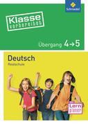 Klasse vorbereitet. Deutsch Übergang 4 / 5. Realschule