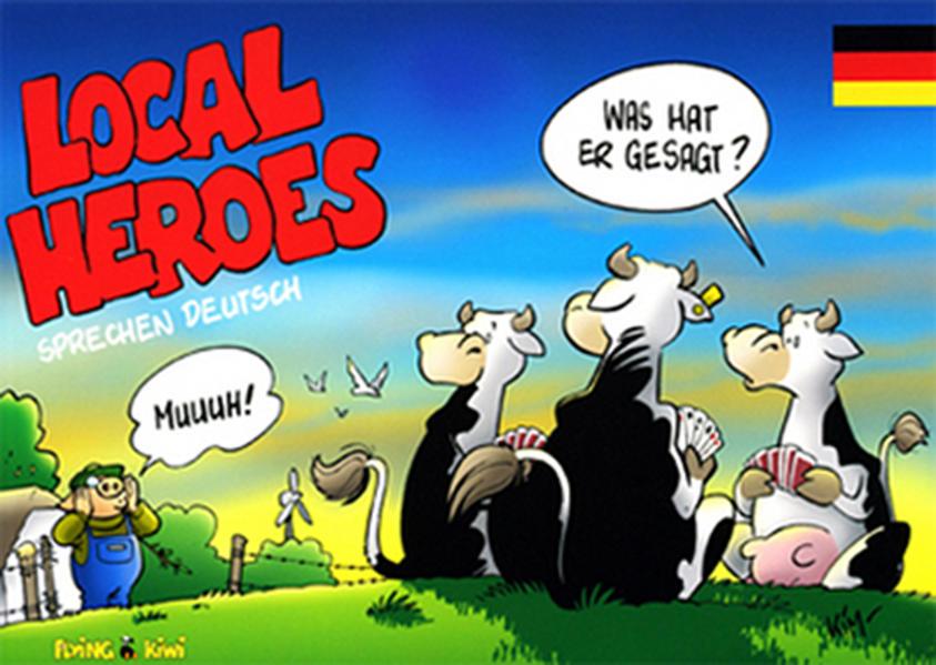 Local Heroes sprechen deutsch als Buch