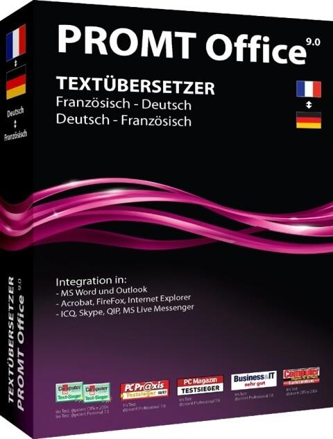 PROMT Office 9.0 Französisch-Deutsch, Deutsch-F...