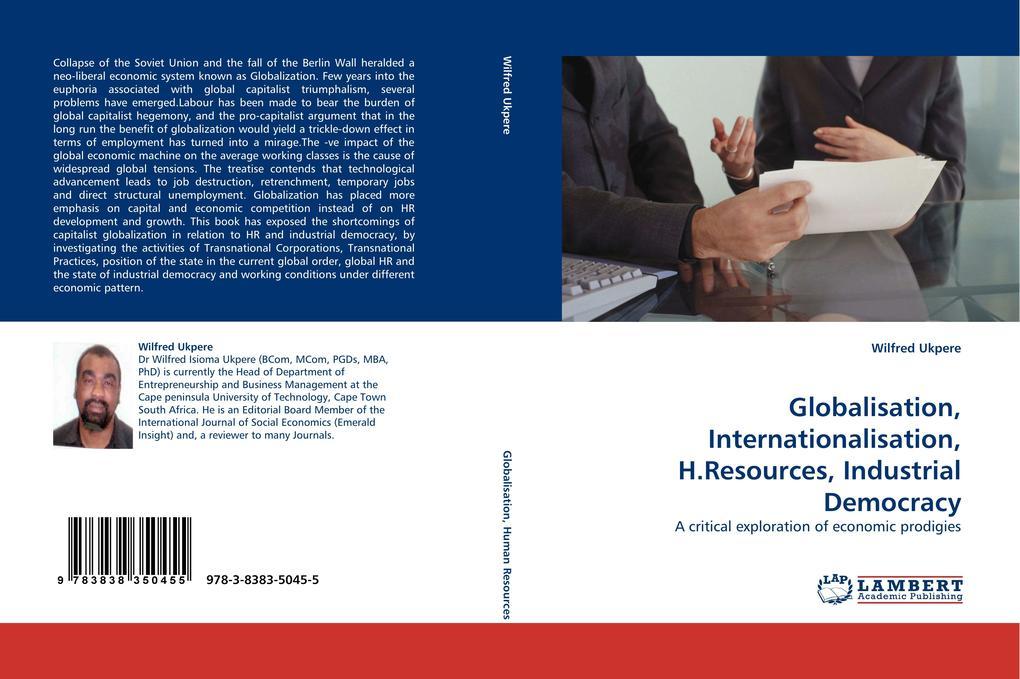 Globalisation, Internationalisation, H.Resources, Industrial Democracy als Buch (gebunden)