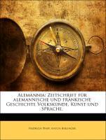Alemannia: Zeitschrift für alemannische und frä...
